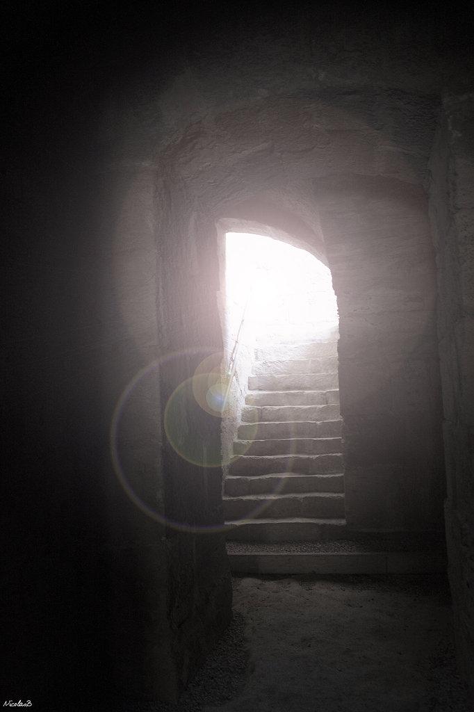Porte dans le désert tunisien