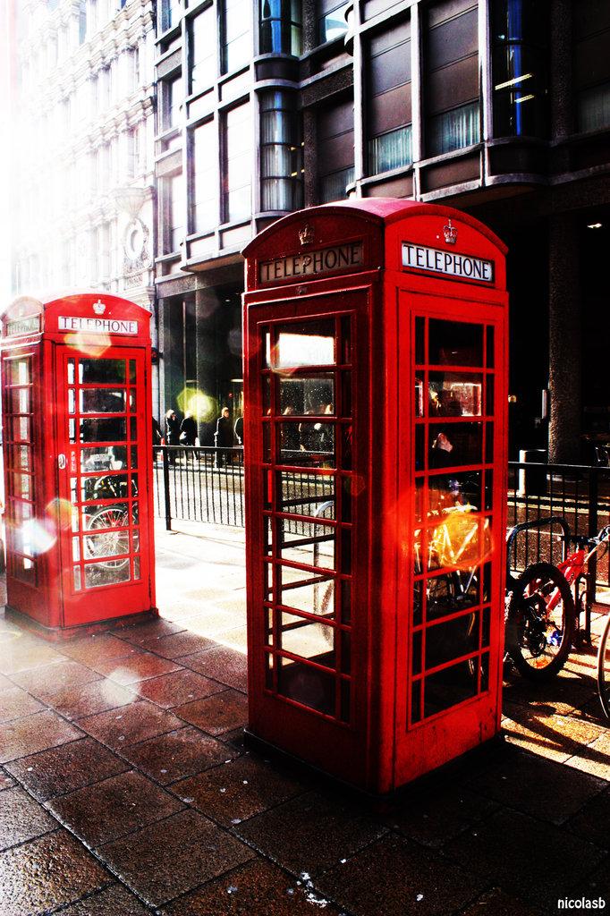 londres cabine téléphonique